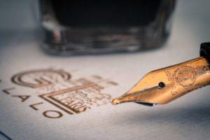Kalligraphie Füller