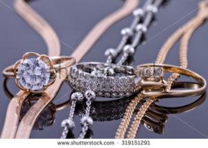 Schmuckset Ringe